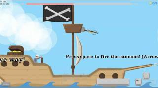 Happy Wheels Pirate Ship Fun