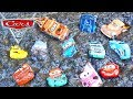 Disney Cars 3 Mater Plays With Lightning Mcqueen And Piston Cup Racers And Pushes Them In Mud!