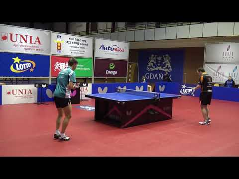 Paul Drinkhal vs Mikhail Paikov (TABLE TENNIS FULL HD)