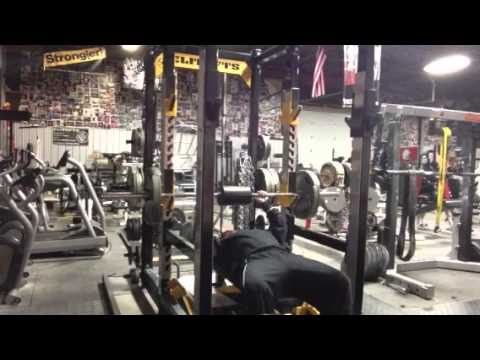 elitefts.com — Shoulder Saver Pad Bench Press