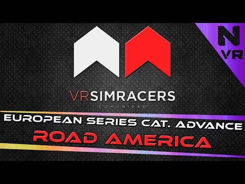 Assetto Corsa - EUROPEAN SERIES CATEGORÍA ADVANCE (Circuito ROAD AMERICA)