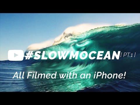 iPhone Slowmocean waves [ #SLOWMOCEAN ]