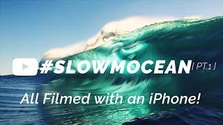 iPhone SLOW MO in the ocean!! [ #SLOWMOCEAN pt.1 ]