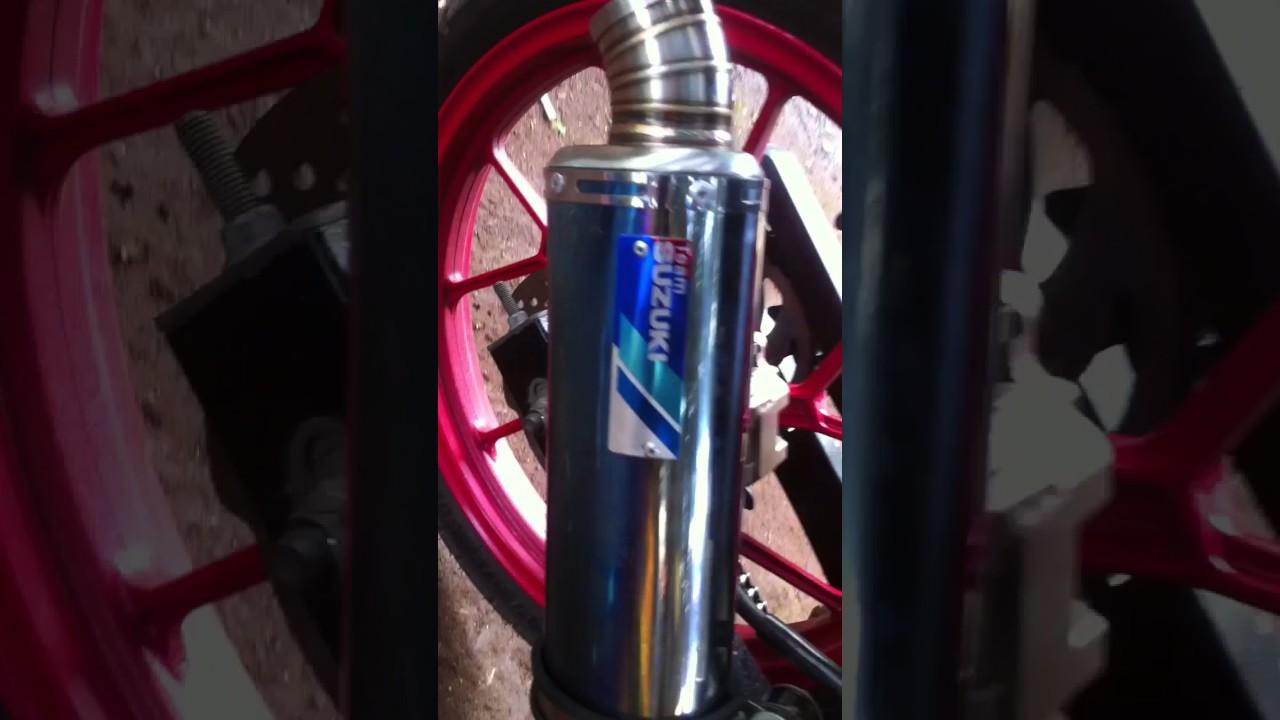 Knalpot Racing Team Suzuki Sga Di Satria Fu 150