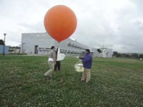 Radio + Video sonde launch at Okinawa