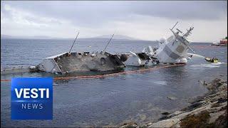 Like Clockwork! Russians  Accused of Sinking Norwegian Frigate Full of Capable Woman Navigators