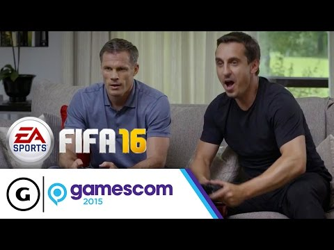 FUT Draft Trailer ft. Gary Neville & Jamie Carragher - FIFA 16 | Gamescom 2015