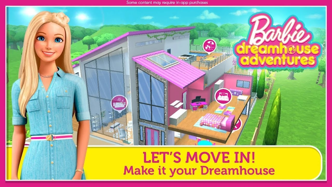 barbie dreamhouse party games online free
