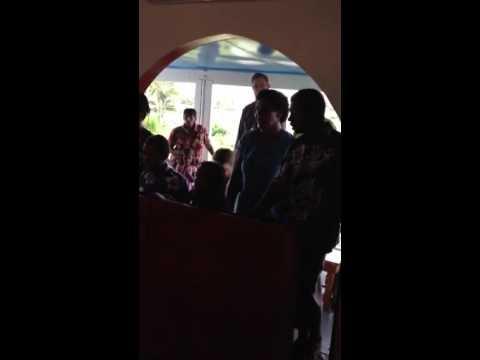 Chanting at Greek Orthodox Sacred Mission Center, Fiji - Part 5