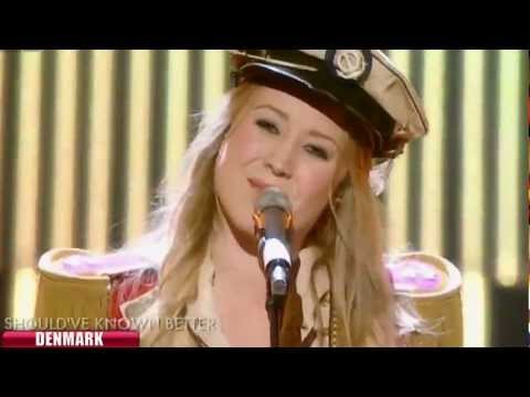 Eurovision Song Contest 2012 Denmark - Soluna Samay - Should've Known Better