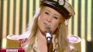 Eurovision Song Contest 2012 Denmark - Soluna Samay - Should