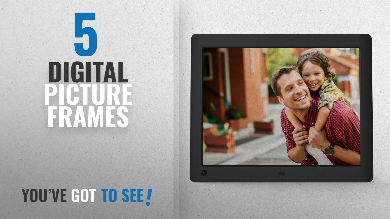 Top 10 Digital Picture Frames 2018 Nix Advance 8 Inch Hi Res