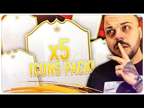 5 ICONE IN 5 PACCHETTI GARANTITI + OTW !!! PACK OPENING FIFA 19 thumbnail