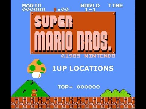 Super Mario Bros Secrets - 1UP Locations