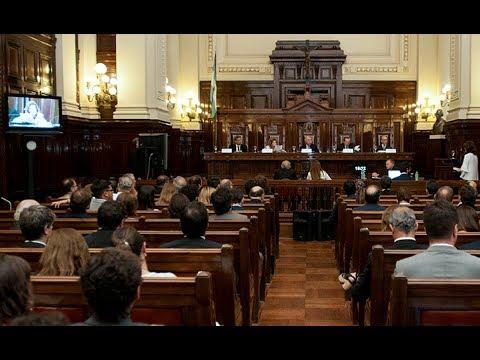 Audiencia pública ante la Corte Suprema por la causa Riachuelo
