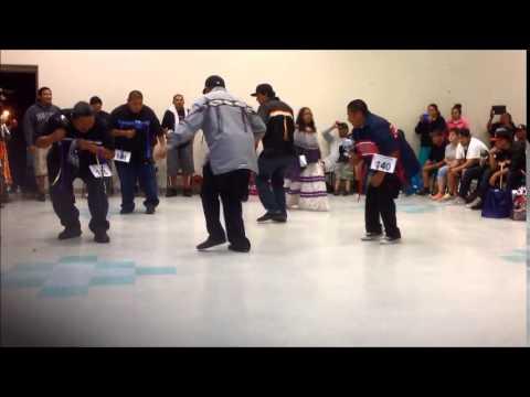 Men's Bird Dance Contest 2013 Peach Springs Az