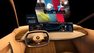 First virtual drive in the BMW Vision iNEXT