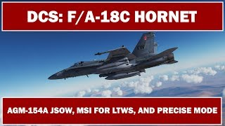 DCS: F/A-18C Hornet - Upcoming AGM-154A JSOW, MSI for LTWS, and PRECISE Mode
