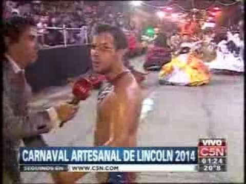 C5N - VERANO 2014: CARNAVAL ARTESANAL DE LINCOLN 2014 02/02/2014 (PARTE 5)