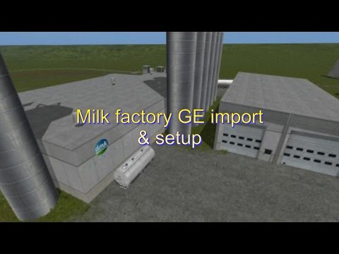 Milk factory GE import & setup