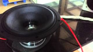 Kravchenko Audio - Extreme Driver Excursion - KA6 6NEO 22 Volts at Fs