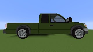 How To Make A Minecraft Car!