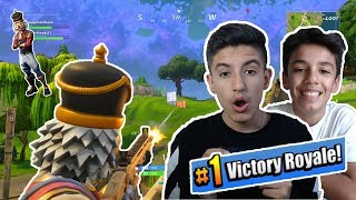 Fortnite Battle Royale Duos Domination With Brother! Crackshot Gameplay!