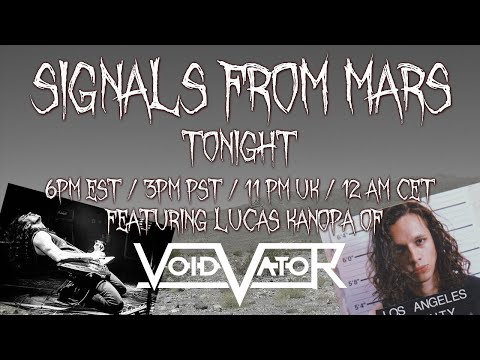 Signals From Mars Presented By Mars Attacks Podcast - April 13th, 2021