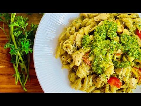 creamy-pesto-pasta-|-quick-&-easy-recipe