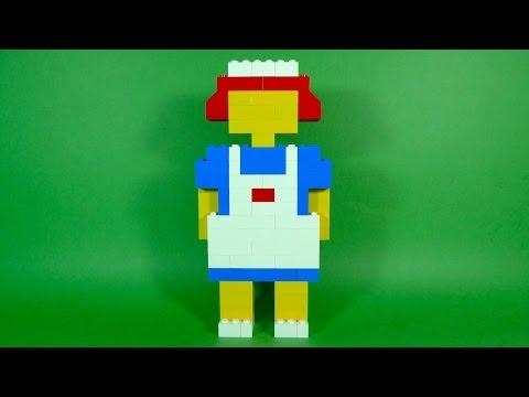 How To Build Lego Nurse 4630 Lego Build Play Box Building