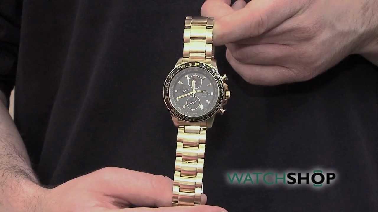 men s seiko solar alarm chronograph watch ssc008p2