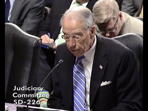 Senate Judiciary Committee Executive Business Meeting, 6-9-16
