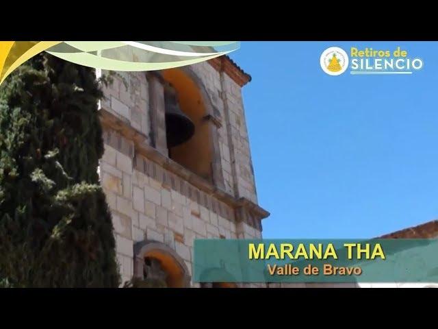 Marana Tha Octubre 26, 27 y 28