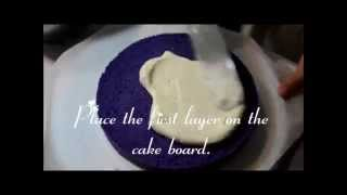 Part 2 - Ube-macapuno Cake How-to-video