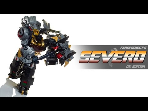 Toy Review: Fansproject Severo (Deluxe Edition)