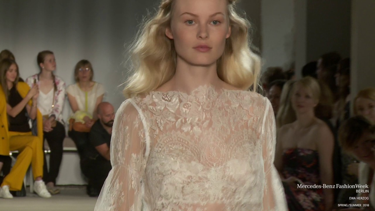 Ewa Herzog Mercedes Benz Fashion Week Berlin Ss18 Youtube