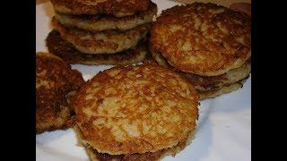 Картофельные драники - очень быстро, очень просто, очень вкусно!
