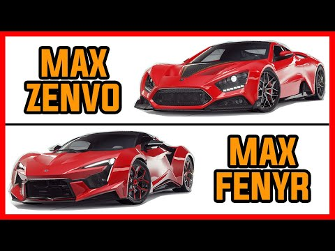 ZENVO TS1 GT vs FENYR SUPERSPORT | Asphalt 9 Legends