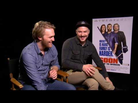 Wyatt Russell & Marc-André Grondin talk GOON: Last of the Enforcers