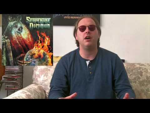 Serpentine Dominion - SELF-TITLED Album Review (members of Cannibal Corpse and Killswitch Engage!)