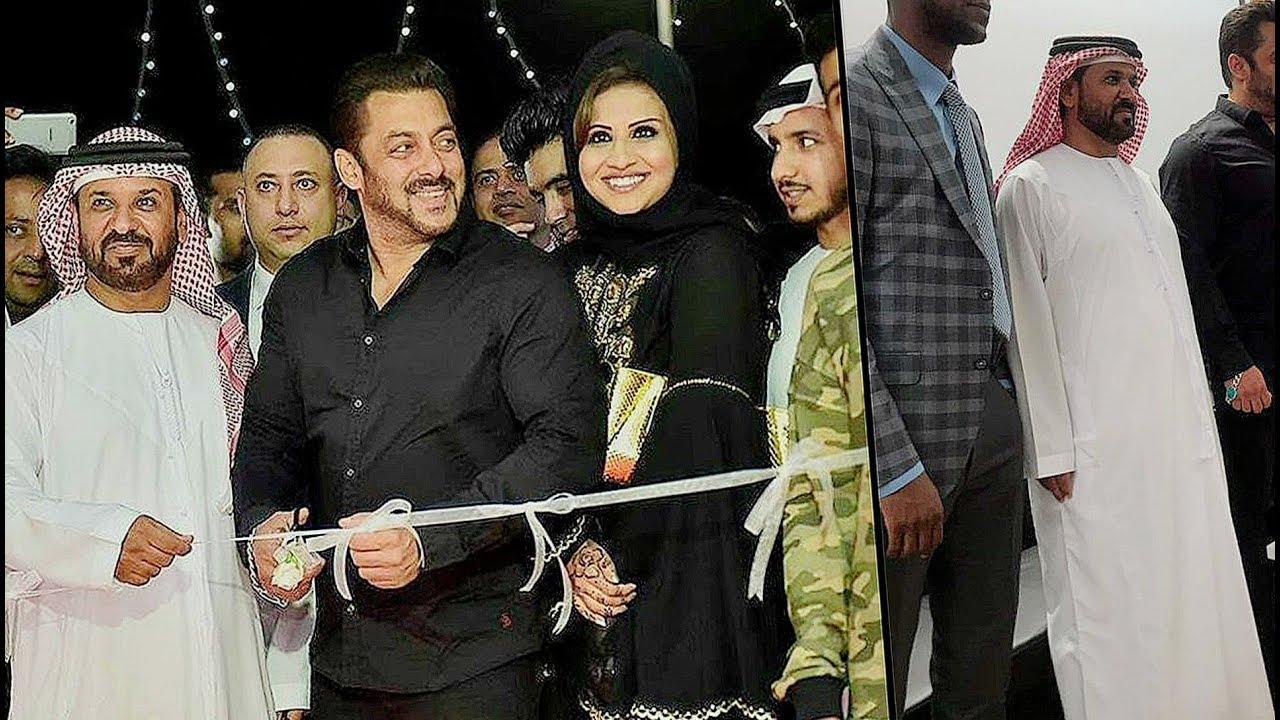 Salman Khan Inaugurates Belhasa Driving School In Dubai