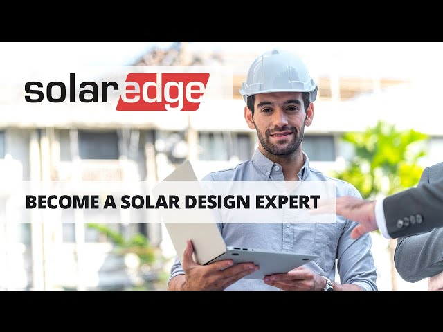 Become a Design Expert | SolarEdge Designer | FREE Web-Based Solar Tool | Presented By Soligent