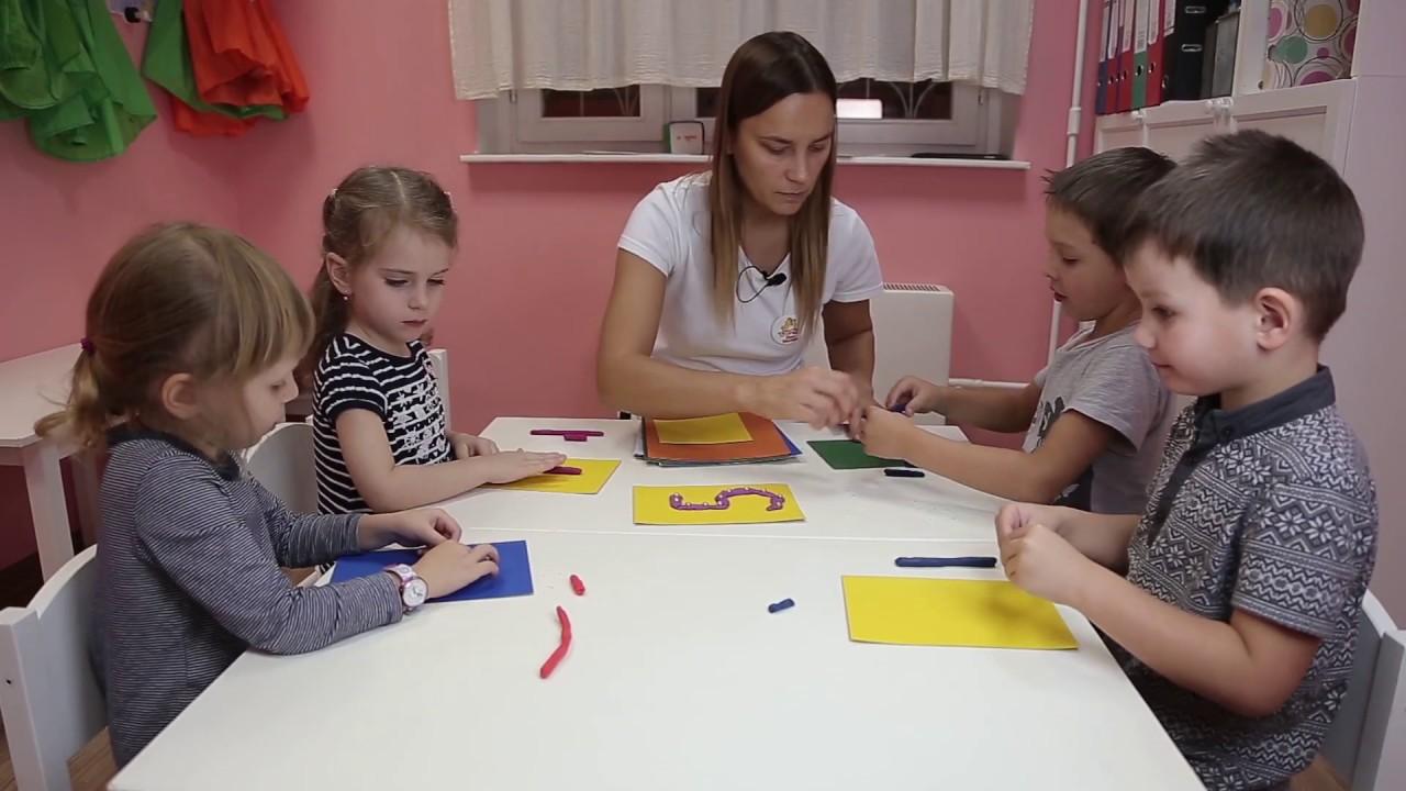 Занятие для детей 4-5 лет №8 | Онлайн детский клуб «Лас ...