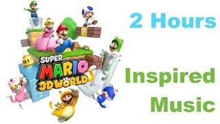 Super Mario 3D World Music Inspired Album with Super Mario 3D World Music Extended