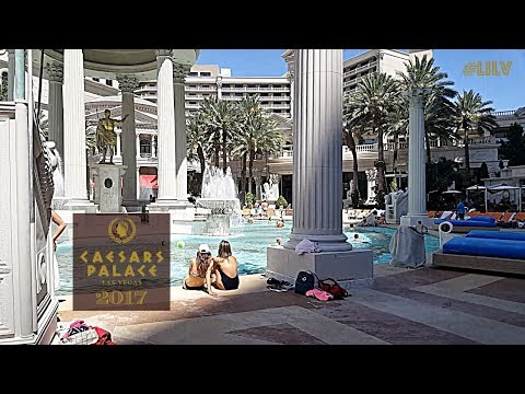 Walking thru Caesars Palace! 2017