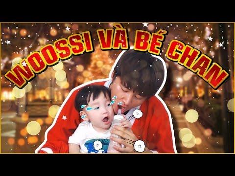 Woossi nấu ăn cùng bé Chan siêu cute | Làm Nui sốt sữa tươi nghêu | Cutest Korean baby eating food