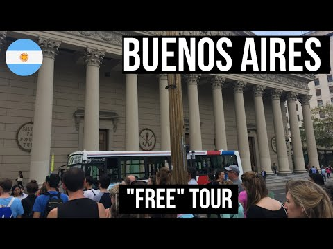 Travel Shorts: Free Tours of Buenos Aires 2017 (Walking Tour) - PlanetPatrick.net