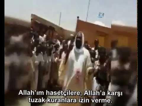 Sudan'da Türkiye ve Erdoğan için dua