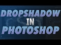 How To Make A Drop Shadow - Photoshop Cs6 Tutorial