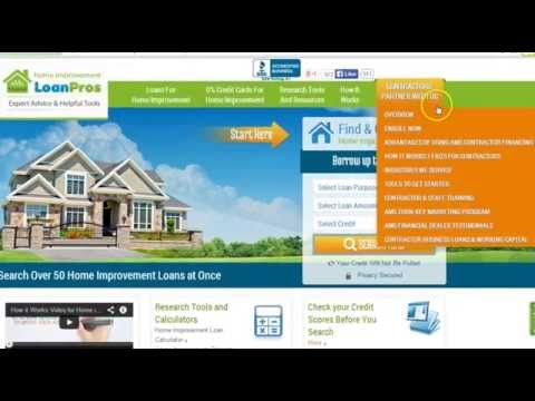 AMS Contractor Financing- Getting Started Tutorial